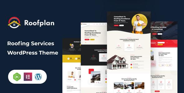 Roofplan - Roofing Services WordPress Theme Free Download Lastes Version